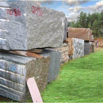 Bloki granitowe
