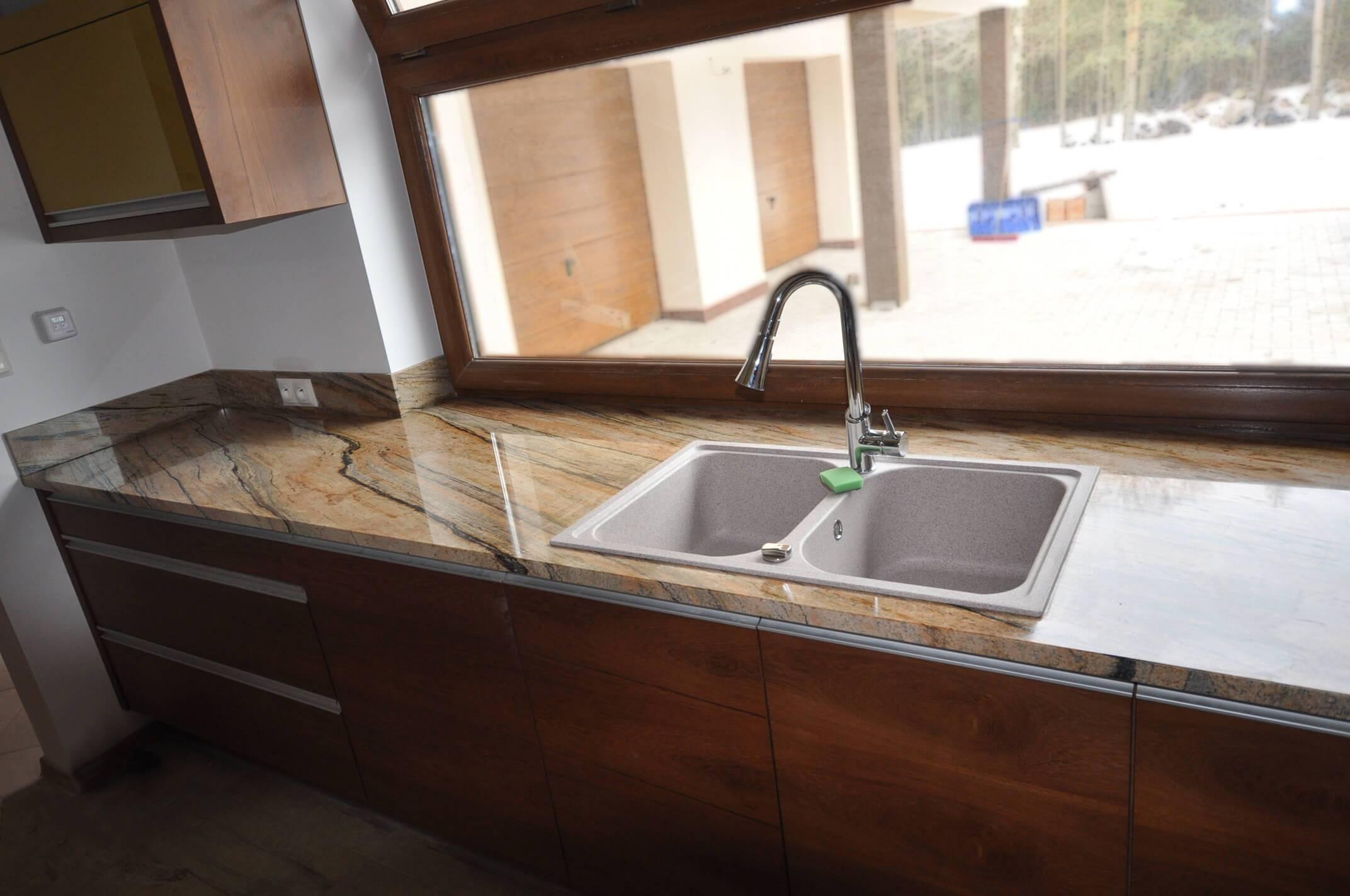 Kuchenne blaty granitowe z materiału PEREGRINE/PRADO