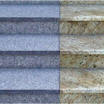 Kamienne schody z granitu TOKOWSKI + MADURA GOLD