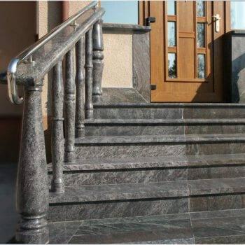 Kamienne schody z granitu ORION + PARADISO